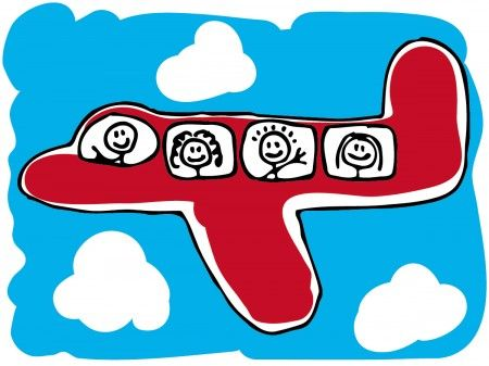 viaggiare in aereo come vestirsi