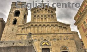 Cattedrale incentro a Cagliari