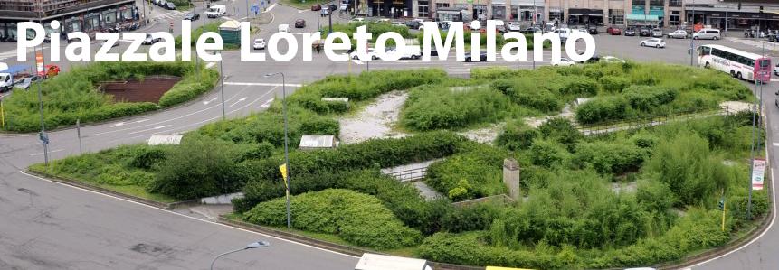 Piazza Loreto a Milano