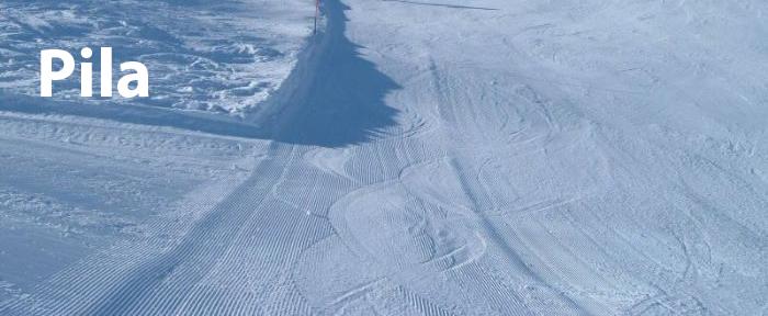 piste da sci a Pila
