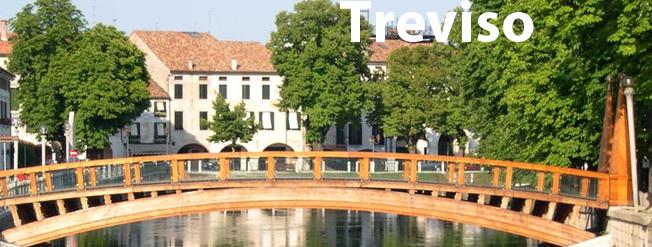 Vista pittoresca della città di Treviso