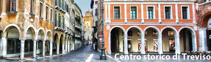 scorcio del centro storico di Treviso