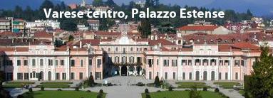 Hotel in centro a Varese. Palazzo Estense