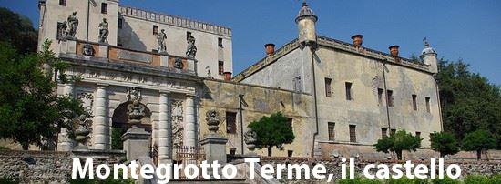 scorcio del castello di Montegrotto