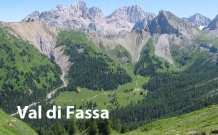 Alberghi in Val di Fassa