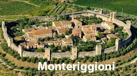 Alberghi a Monteriggioni